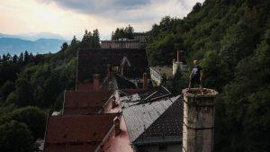 Urbex sur le toit d'un hôpital abandonné