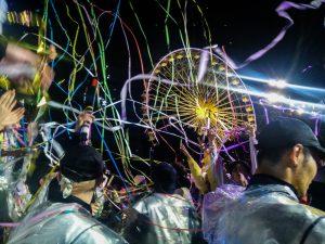 Ambiance au carnaval de Nice,l'un des 3 plus gros du monde