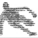 Logo v3. En principe, on reconnait un traceur, un squelette biomécanique, du texte, et un verset de la Bible.
