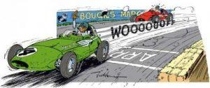Course de voiture. La Renault Mégane 1de 1997, un bolide je vous dis !