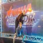 Contre le stress de la finale de Ninja Warrior une seule solution, grimper sur un roux !