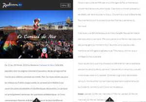 Carnaval de Nice, BAT, Brigade des Agitateurs de Tribunes, Février 2016, France Net Infos, Nice