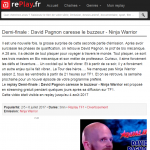 Ninja Warrior, Juillet 2017, Replay TF1, Cannes