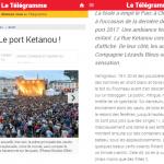 Lignes de Vie, Août 2017, Le télégramme, Les Jeudis du port, Brest