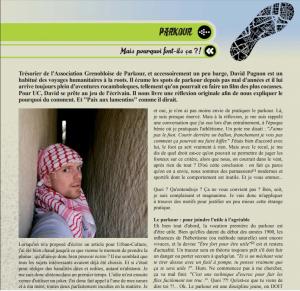 Mais pourquoi ils font ça ?? Avril 2012, Urban Culture Magazine, Grenoble